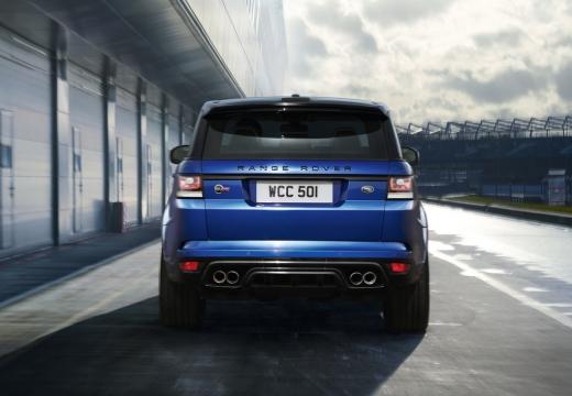 LAND ROVER Range Rover Sport IV kombi niebieski jasny tylny