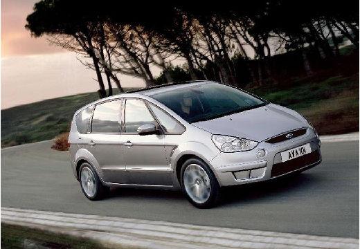 FORD S-MAX I van silver grey przedni prawy