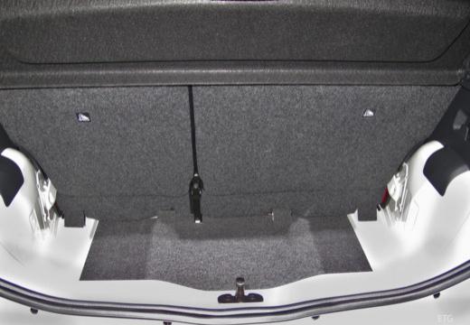 SKODA Citigo II hatchback przestrzeń załadunkowa