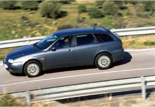 ALFA ROMEO 156 1.9 JTD Progression Kombi Sportwagon II 2.0 140KM (diesel)