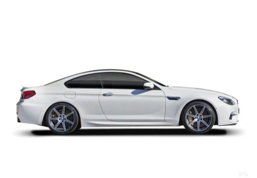 BMW Seria 6 coupe boczny prawy