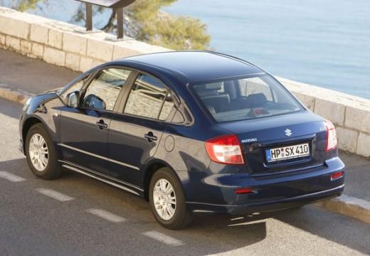 SUZUKI SX4 sedan niebieski jasny tylny lewy