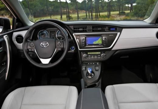 Toyota Auris I hatchback tablica rozdzielcza