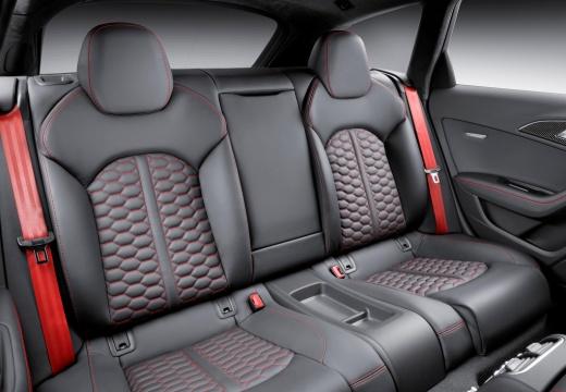 AUDI A6 Avant C7 II kombi czerwony jasny wnętrze
