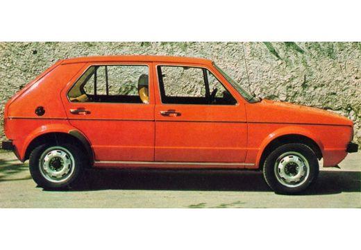 VOLKSWAGEN Golf hatchback czerwony jasny boczny prawy