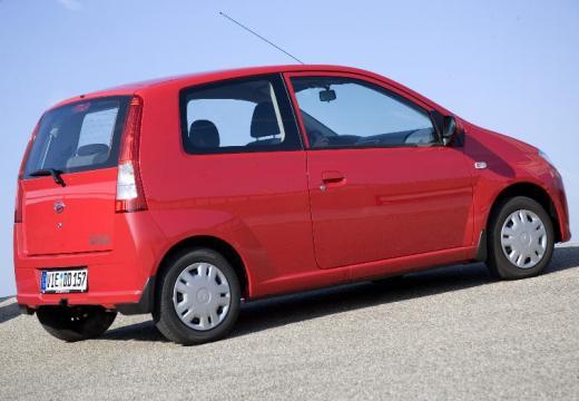 DAIHATSU Cuore hatchback czerwony jasny tylny prawy