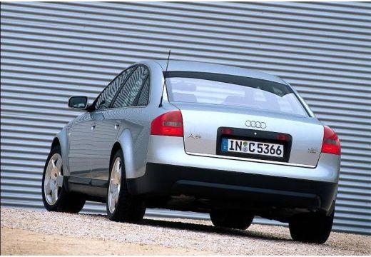 AUDI A6 /S6 4B I sedan silver grey boczny lewy