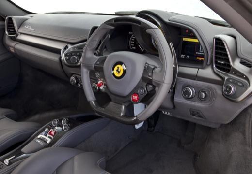 FERRARI 458 I coupe żółty tablica rozdzielcza