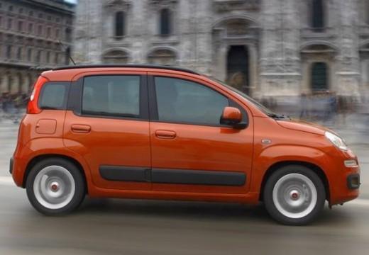 FIAT Panda III hatchback czerwony jasny boczny prawy