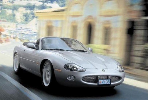 JAGUAR XK8 XKR Convertible kabriolet silver grey przedni prawy