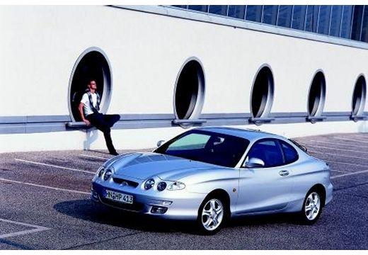 HYUNDAI Coupe II coupe silver grey przedni lewy