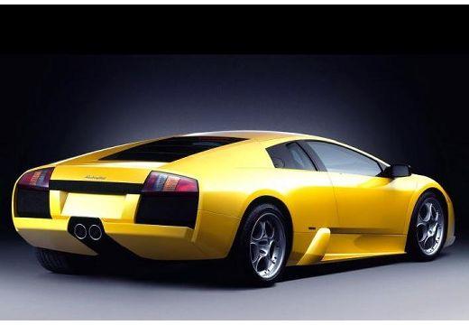 LAMBORGHINI Murcielago coupe żółty tylny prawy