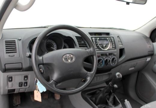 Toyota HiLux IV pickup tablica rozdzielcza