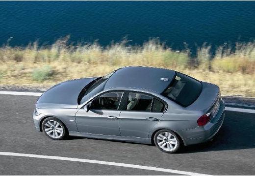 BMW Seria 3 E90 I sedan silver grey tylny lewy