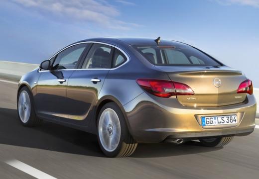 OPEL Astra sedan silver grey tylny lewy