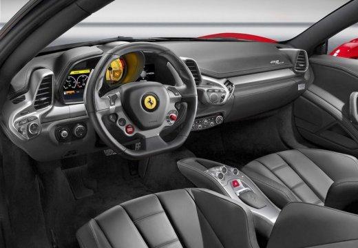 FERRARI 458 I coupe czerwony jasny tablica rozdzielcza