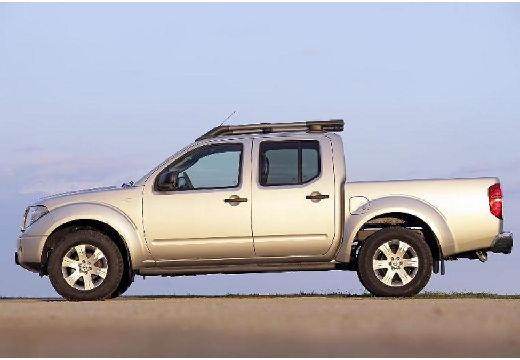 NISSAN Navara II pickup silver grey boczny lewy