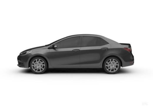 Toyota Corolla IV sedan boczny lewy