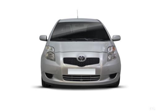 Toyota Yaris III hatchback przedni