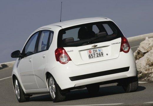 CHEVROLET Aveo II hatchback biały tylny lewy