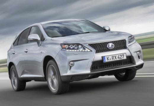LEXUS RX III kombi silver grey przedni prawy