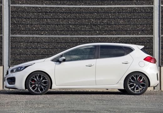 KIA Ceed III hatchback biały boczny lewy