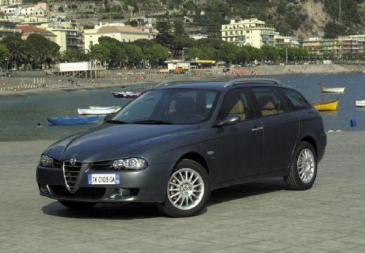 ALFA ROMEO 156 Sportwagon III kombi czarny przedni lewy