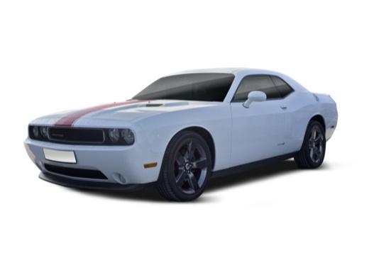 DODGE Challenger coupe biały przedni lewy
