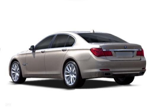 BMW Seria 7 F01 F02 I sedan silver grey tylny lewy