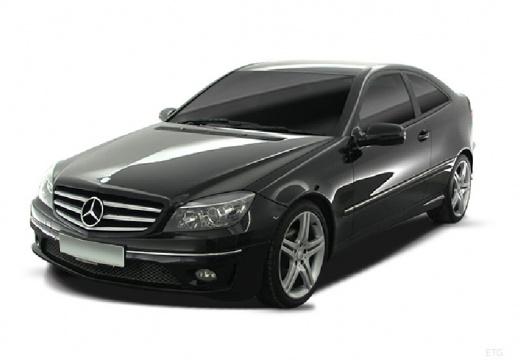 MERCEDES-BENZ Klasa CLC coupe czarny