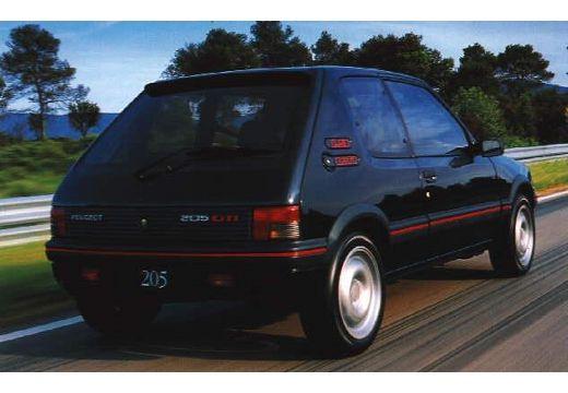 PEUGEOT 205 1.1 GL Hatchback I 1.2 54KM (benzyna)