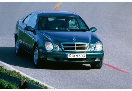 MERCEDES-BENZ Klasa CLK CLK C 208 coupe zielony przedni prawy