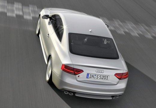 AUDI A5 II coupe silver grey tylny lewy