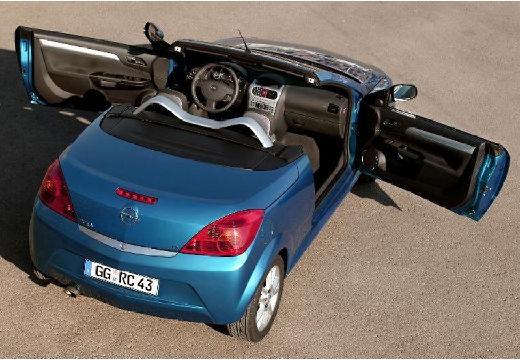 OPEL Tigra I roadster niebieski jasny tylny prawy