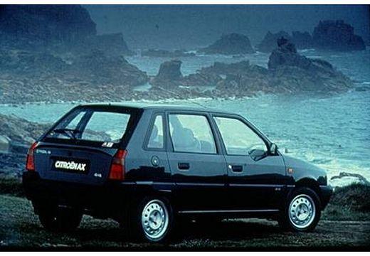 CITROEN AX I hatchback czarny tylny prawy