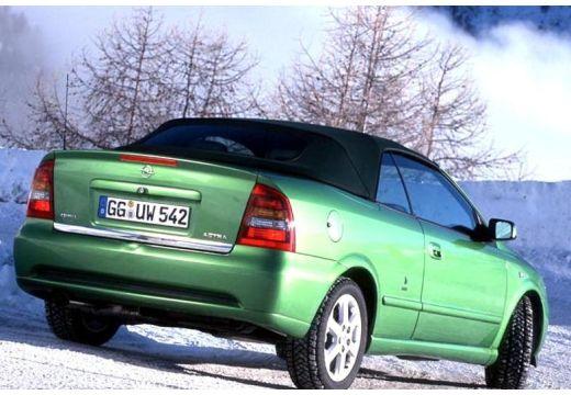OPEL Astra kabriolet zielony tylny prawy