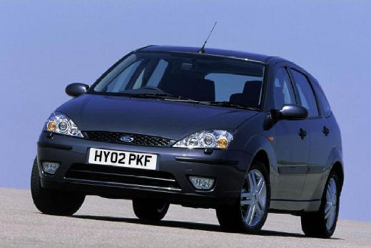 FORD Focus II hatchback czarny przedni lewy