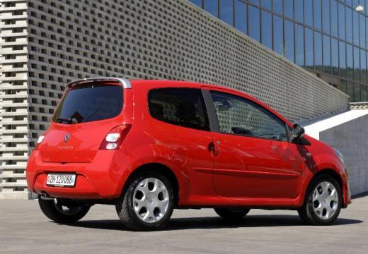 RENAULT Twingo hatchback czerwony jasny tylny prawy