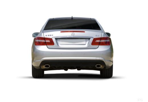 MERCEDES-BENZ Klasa E C 207 I coupe silver grey tylny