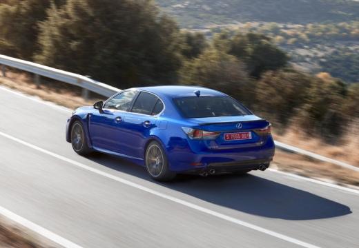 LEXUS GS V sedan niebieski jasny tylny lewy
