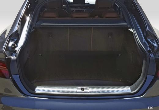 AUDI A5 Sportback III hatchback przestrzeń załadunkowa
