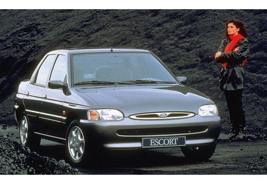 FORD Escort II sedan szary ciemny przedni prawy