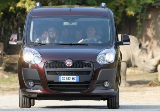 FIAT Doblo III kombi fioletowy przedni