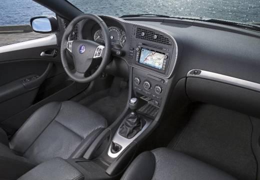 SAAB 9-3 Sport II sedan czarny tablica rozdzielcza