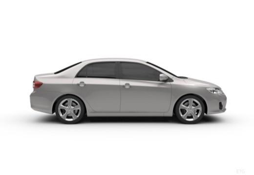 Toyota Corolla II sedan boczny prawy