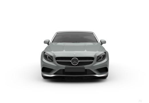 MERCEDES-BENZ Klasa S Coupe Klasa S kabriolet przedni