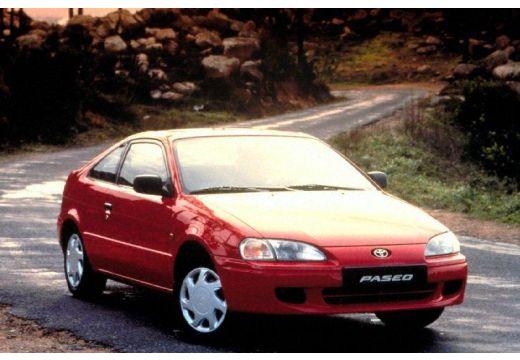 Toyota Paseo coupe przedni prawy