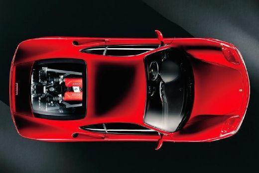 FERRARI 360 Spider kabriolet czerwony jasny