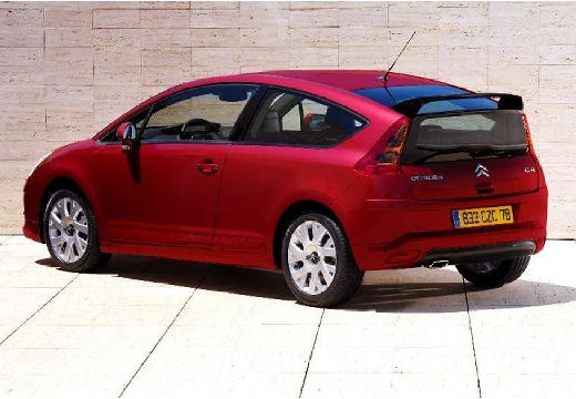 CITROEN C4 I hatchback czerwony jasny tylny lewy