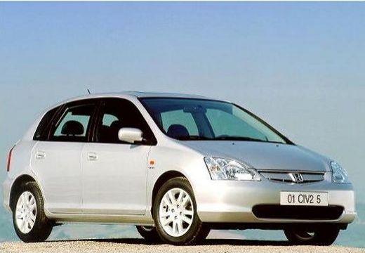 HONDA Civic IV hatchback silver grey przedni prawy